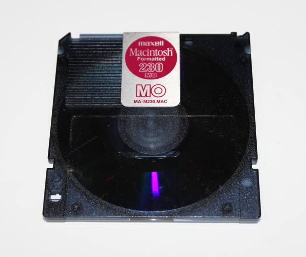 MOのディスク