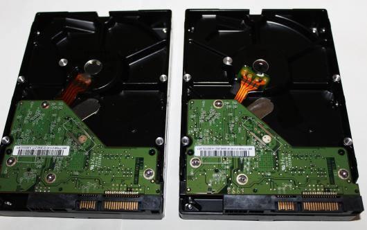 HDDの二重化