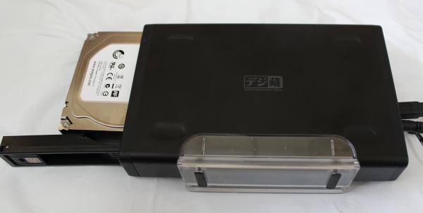 HDDの入れ替え