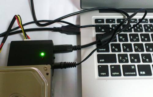 Macの外付けHDD