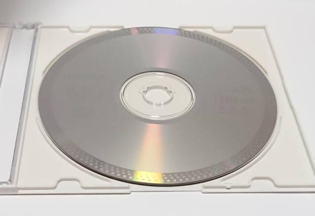 CD-RWと収納ケース