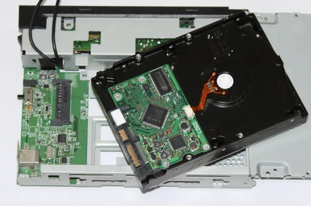 ハードディスクケースの分解