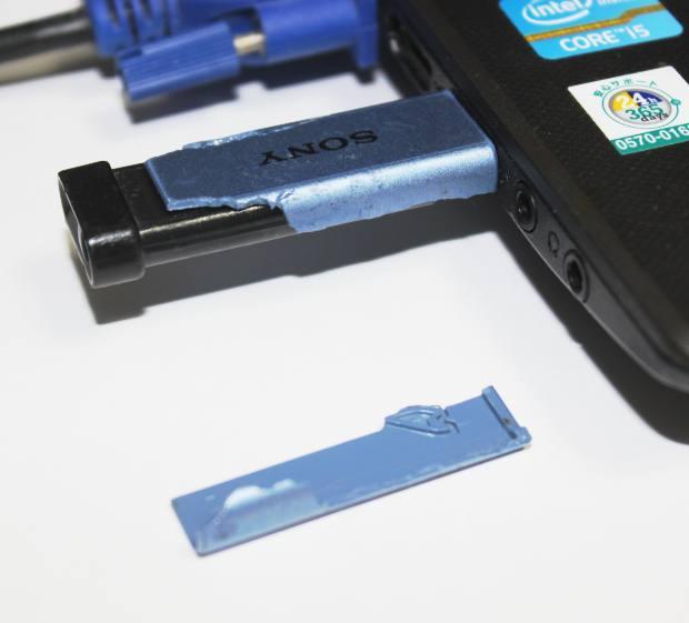 メモリーカードの接続