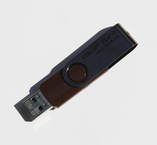 ターン式のUSBメモリ