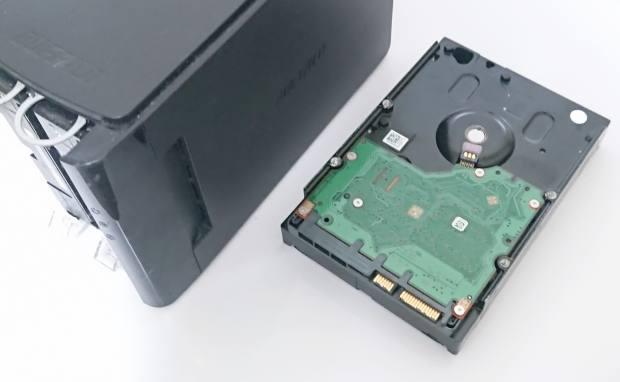 ハードディスクの換装