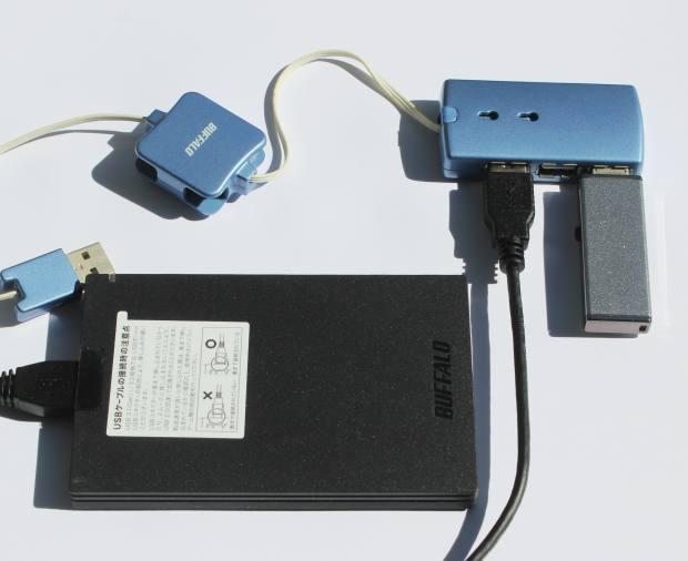 USB装置の接続