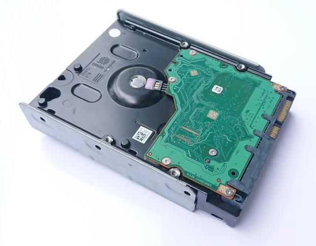 デスクトップパソコンのハードディスク