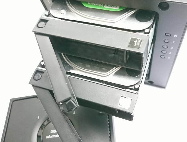 RAID内のHDD