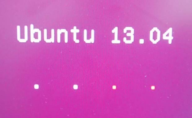 Ubuntuを開く