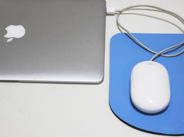 Macパソコンのマウス
