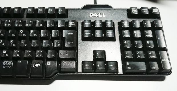 Dell製のキーボード