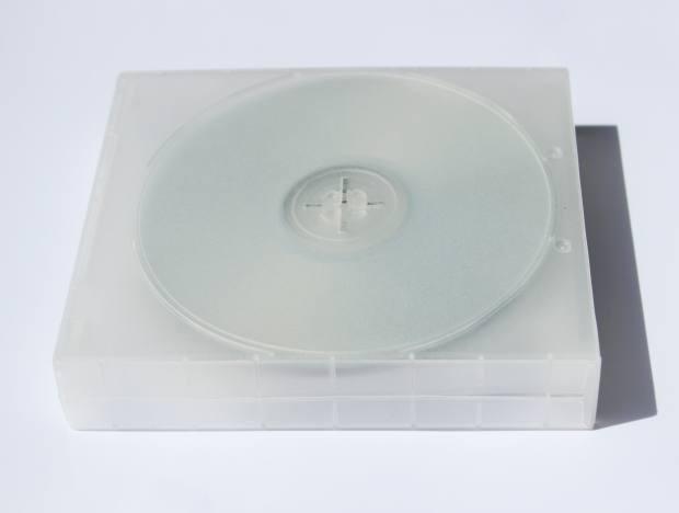 インストールディスクのケース