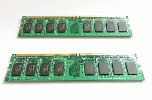 パソコンの内蔵のメモリ