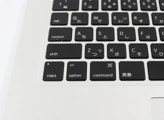 Macパソコンのキーボード