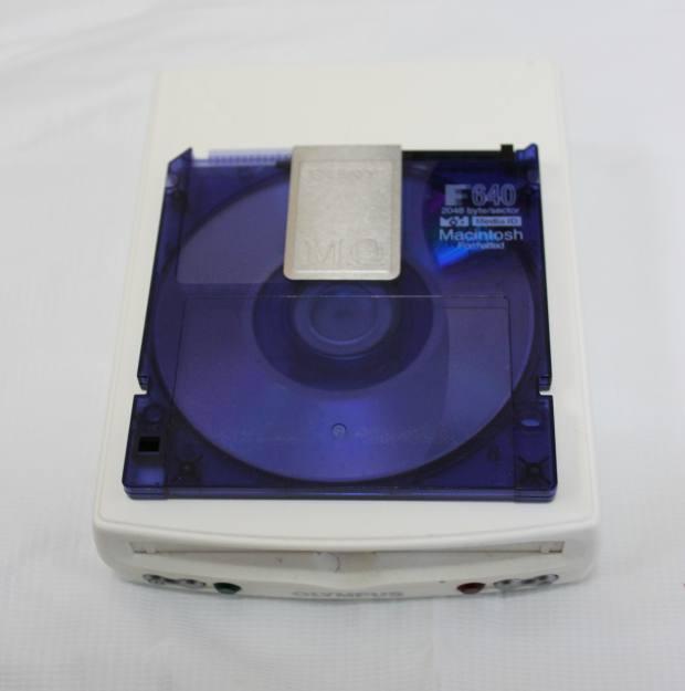 MOのディスクとドライブ装置