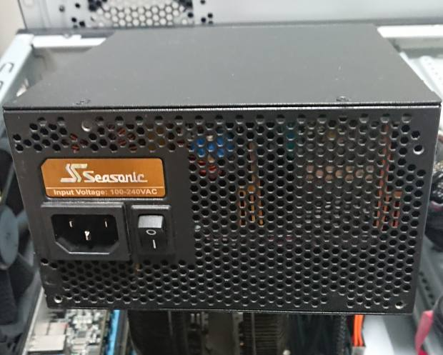 パソコンの電源ユニット