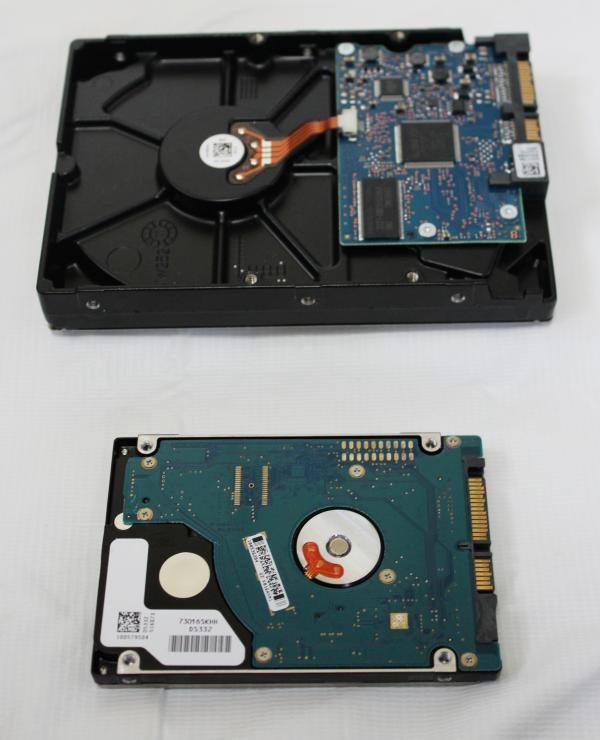 HDDのサイズ