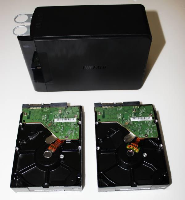 HDDのデータ救出作業