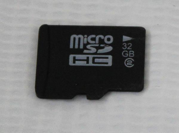 microSDHCメモリーカード