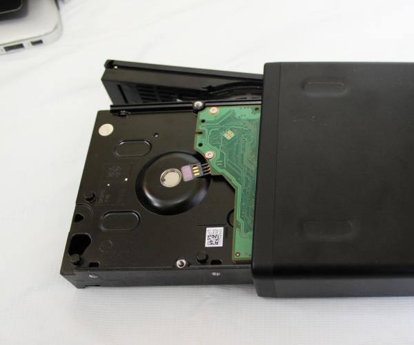 外付けHDDの交換