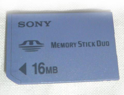 memorystick Pro Duo