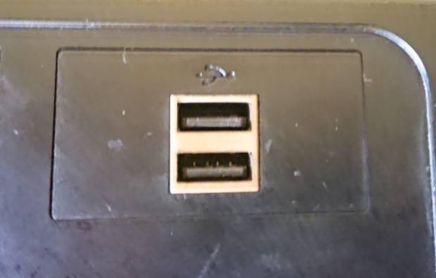 USBの差込口
