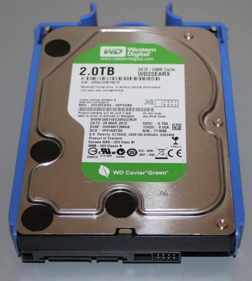2TBハードディスク