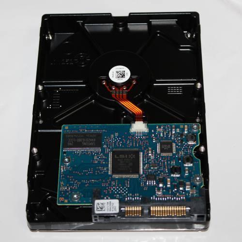 500GBのハードディスク