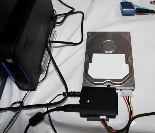 HDD接続