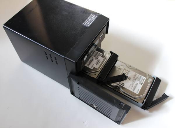 TeraStationのHDD