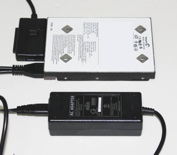 IDE HDDの接続
