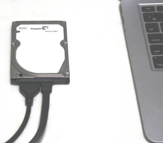 HDD変換ケーブル