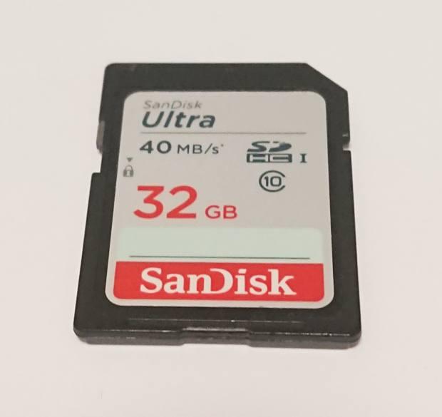 UltraSDHCカード