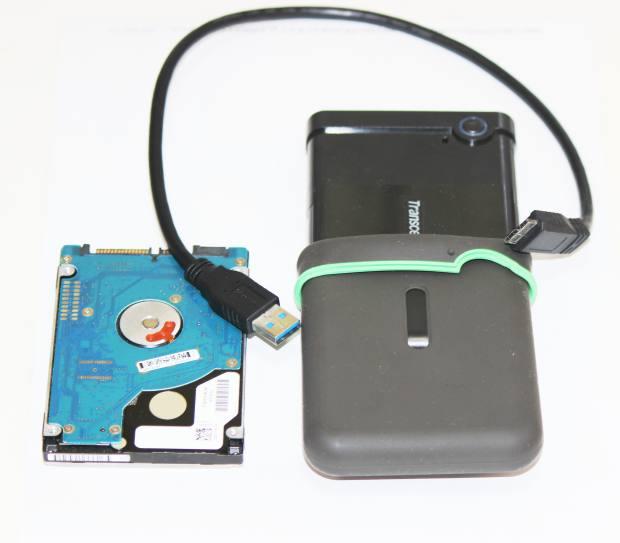 ポータブルHDDのケース