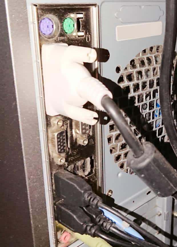 USB機器の接続